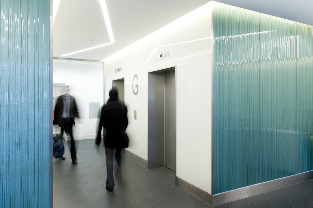 Creative float glass design for architects and textured for Back painted glass design