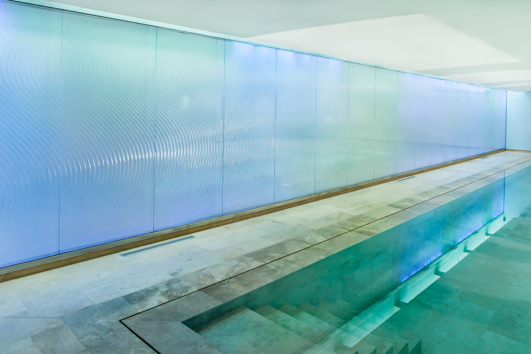Creative Float Glass Design For Architects And Textured And Creative Glass Applications